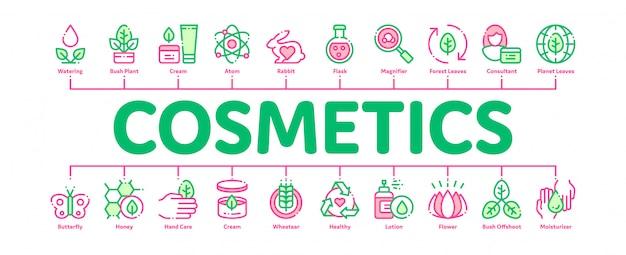 Banner di cosmetici biologici