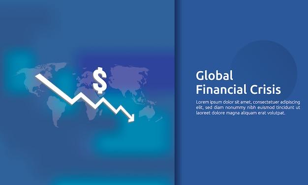 Banner di crisi finanza aziendale