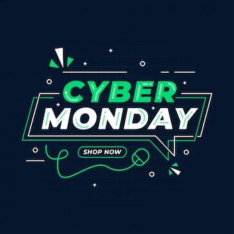 Banner di cyber monday più venduto
