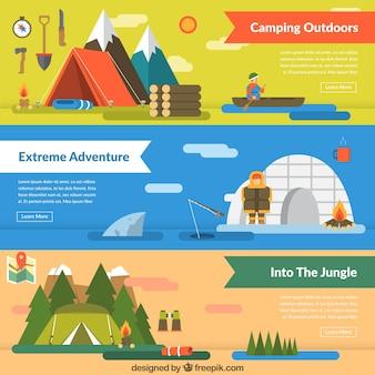 Banner di diverse avventure
