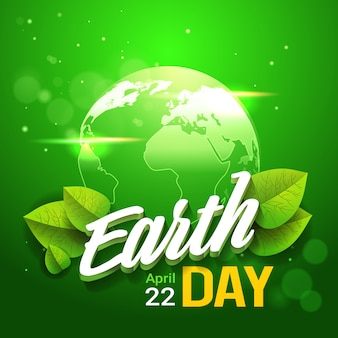 Banner di earth day