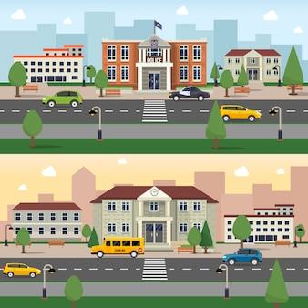 Banner di edifici comunali