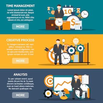 Banner di gestione del tempo