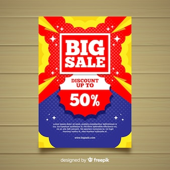 Banner di grande vendita
