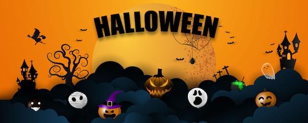 Banner di halloween
