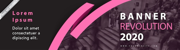Banner di intestazione web