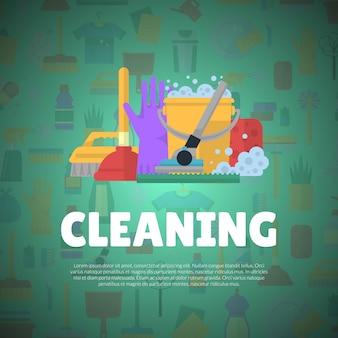 Banner di pulizia