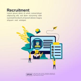 Banner di reclutamento