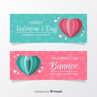 Banner di san valentino