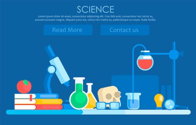 Banner di scienza