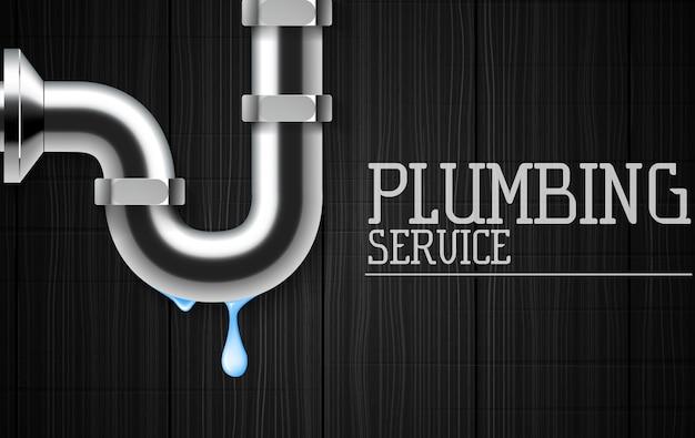 Banner di servizi idraulici