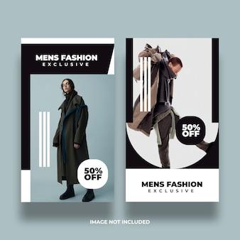Banner di social media moda creativa