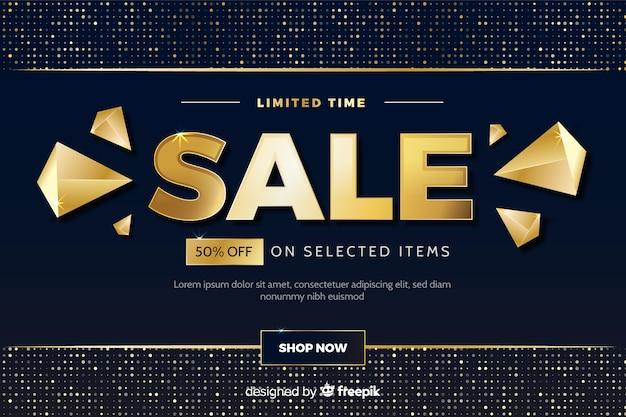 Banner di vendita a tempo limitato con sconto speciale