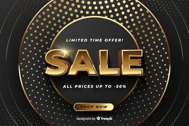 Banner di vendita con offerta speciale
