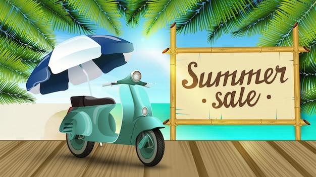 Banner di vendita di estate