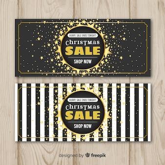 Banner di vendita di natale