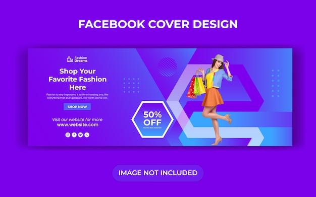 Banner di vendita di social media per post web e instagram
