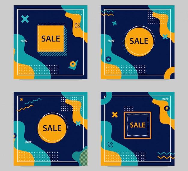 Banner di vendita modificabile
