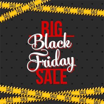Banner di vendita offerta speciale venerdì nero.