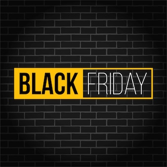 Banner di vendita quadrata di offerta speciale venerdì nero.