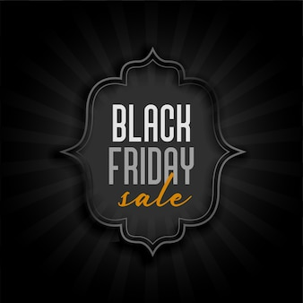 Banner di vendita vacanze venerdì nero