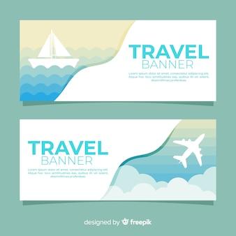 Banner di viaggio