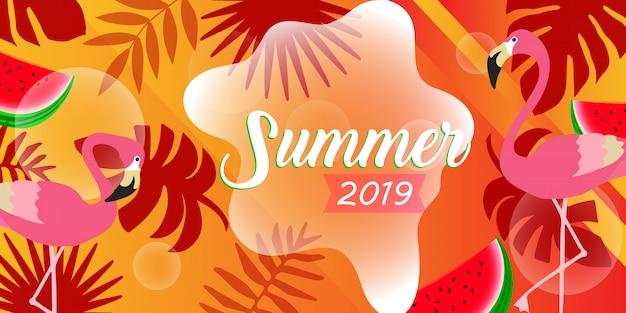 Banner estivi, viaggi e annunci di vacanze