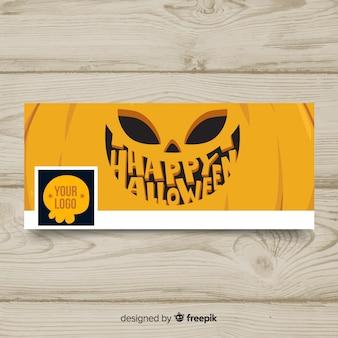 Banner facebook di halloween