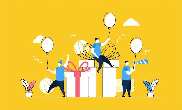 Banner festa di compleanno