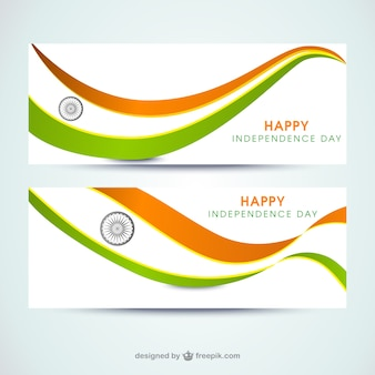 Banner india independence day
