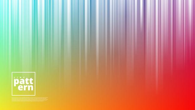 Banner orizzontale con forme astratte di sfondo e linea verticale
