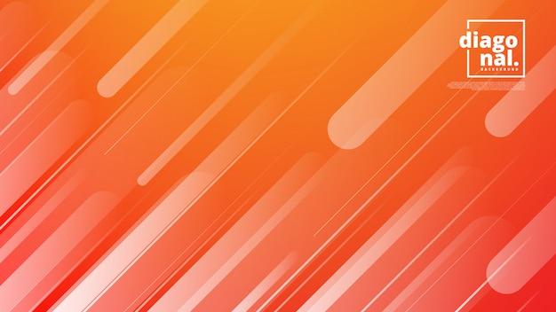Banner orizzontale con sfondo astratto e forme di linea diagonale.