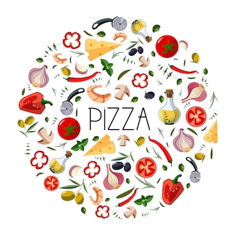 Banner per scatola di pizza