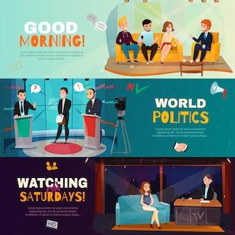 Banner per talk show