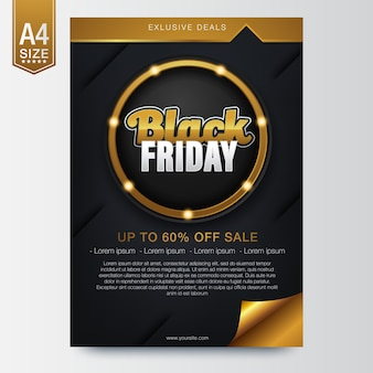 Banner per vendita venerdì nero