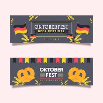 Banner piatto oktoberfest
