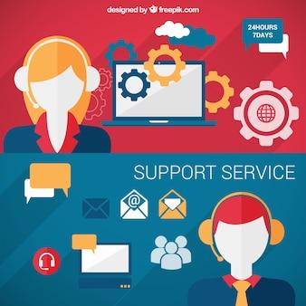 Banner servizio support