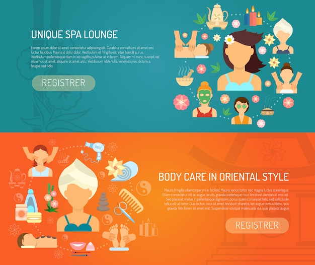 Banner spa orizzontale
