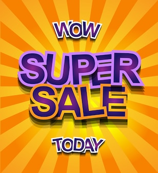 Banner super sale today