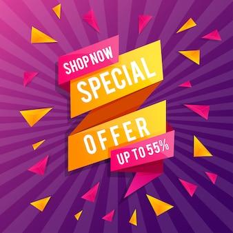 Banner super sale