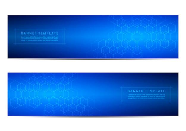 Banner tecnologici e scientifici
