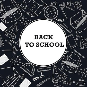 Banner torna a scuola con una foto di materiale scolastico.