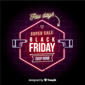 Banner venerdì nero super vendita