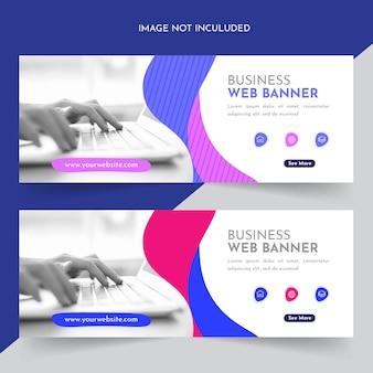 Banner web aziendale