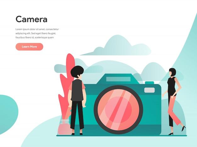 Banner web della fotocamera