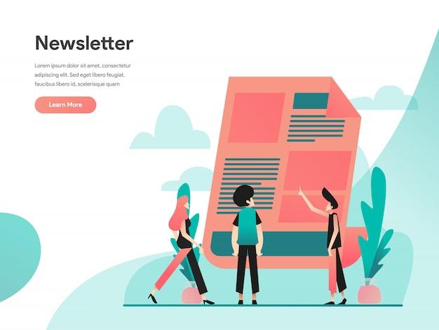 Banner web della newsletter
