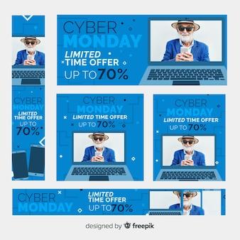 Banner web di Cyber lunedì