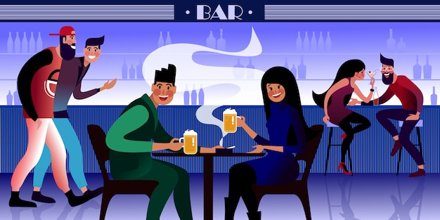 Bar people 2020