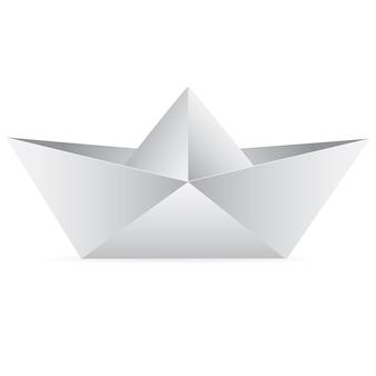 Barca di carta vettoriale