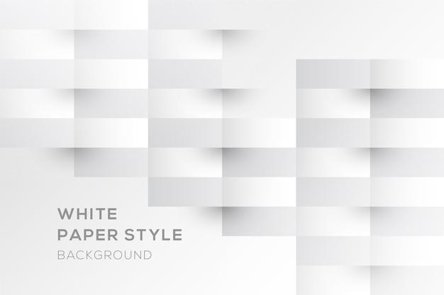 Barra il fondo nello stile della carta 3d